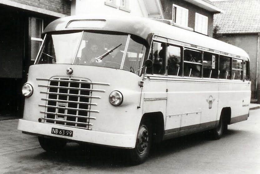 1952 Scania carr. De Bruin NB-63-99