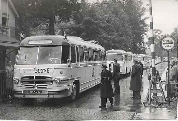 1952 Scania-Vabis nr 61 Met carrosserie van Hondebrink oorspr. van Hägglund
