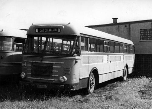 1952 Scania Vabis parkeringspplass