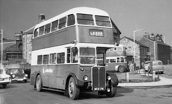 1953 ex-London Transport Weymann-bodied RT3661  lgmxx176