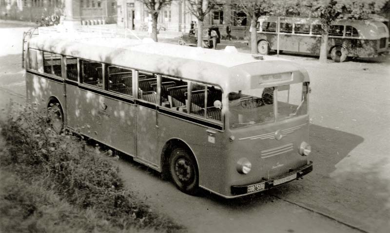 1953 Krauss-Maffei und Kässbohrer