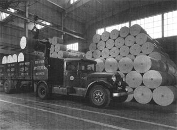 1953 Kromhout met stoom nr36 VGZ vracht 2