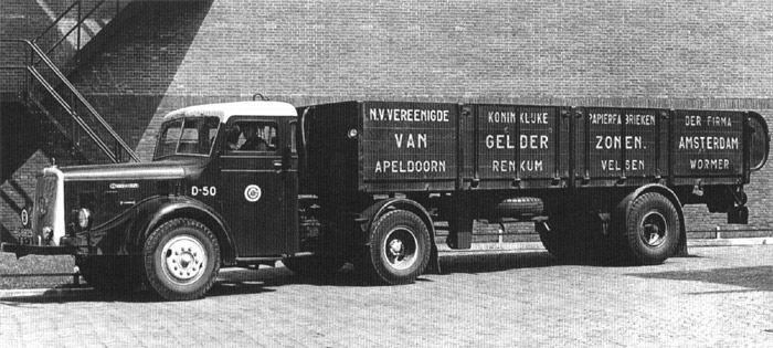 1953 Kromhout met stoom nr36 VGZ vrachtau