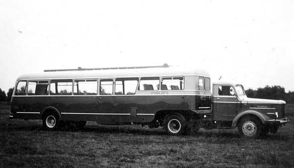 1953 Kromhout T-5S is, met 5 cilinder Kromhout dieselmotor, chassisnummer T1452