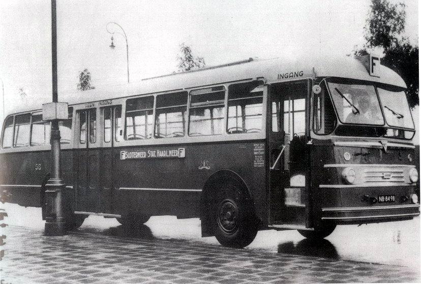 1953 Kromhout TB50 6HG 108 - Verheul, Waddinxveen A'dam