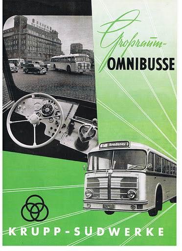 1953 KRUPP-OMNIBUSSE