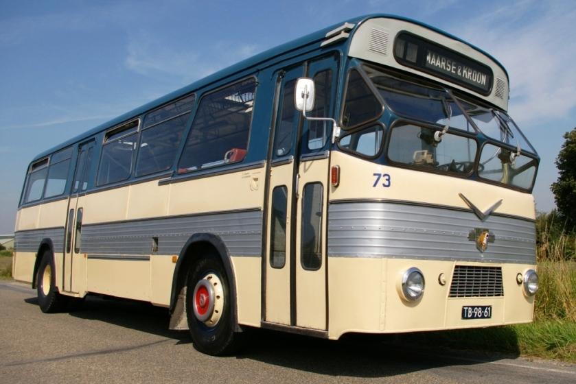 1953 Leyland-Verheul Maarse & Kroon 73 Autobus M&K73 erfg