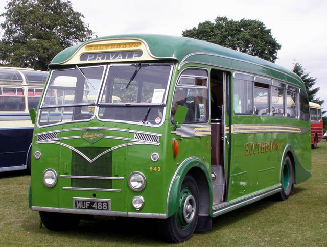 1953 Leyland with Beadle Integral body