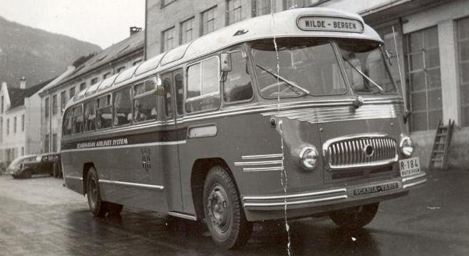 1953 Scania Vabis Bergen maaneden