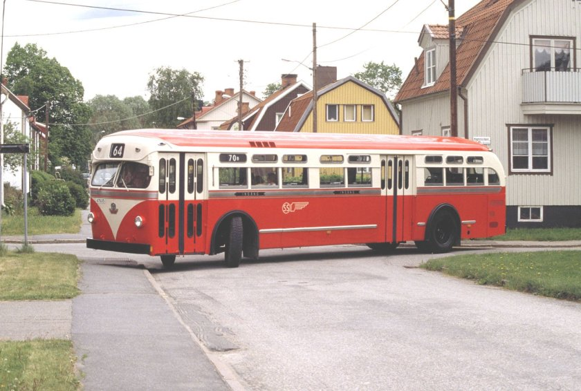 1953 SCANIA-VABIS C 50 METROPOL