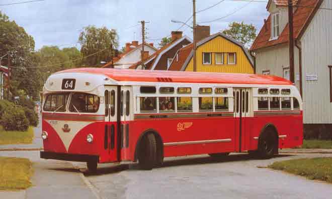 1953 Scania Vabis Metropol