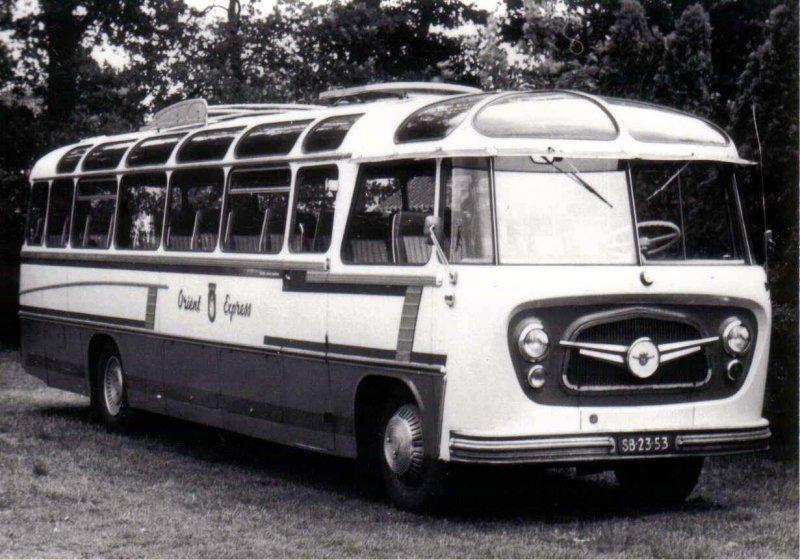 1954-59 Egten-Blok van 6 König Daf