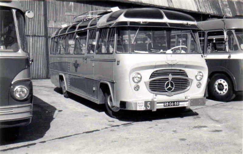 1954-59 OAD 15 König Mercedes Benz