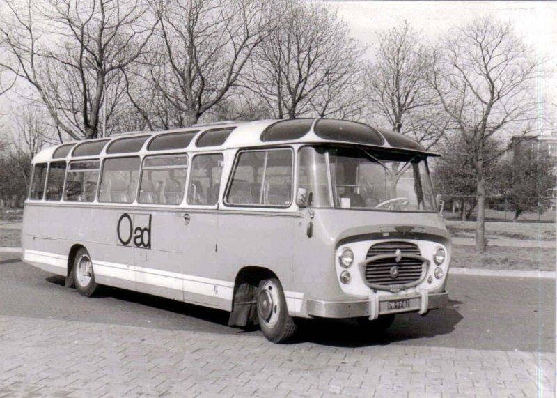 1954-59 OAD 16 Mercedes Benz König