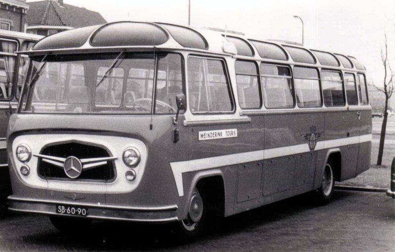 1954-59 OAD 18 Mercedes Benz König