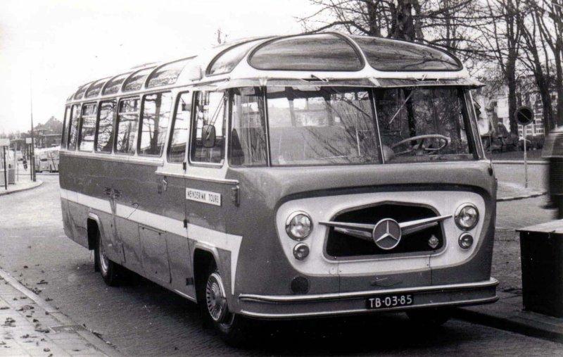 1954-59 OAD 22 Mercedes Benz König