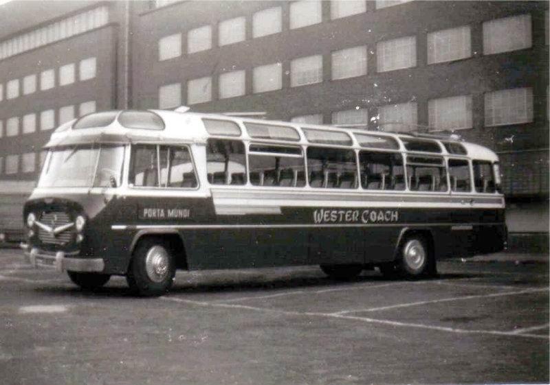 1954-59 Westercoach 14 König Volvo