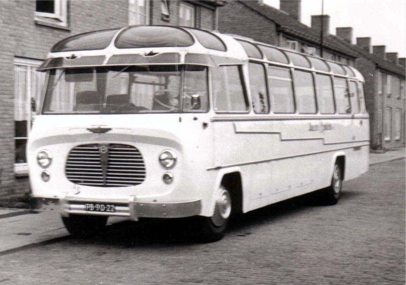 1954 Baaren van 9 DAF König