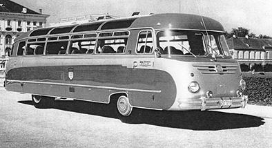 1954 Krauss-Maffei KML 110 body also