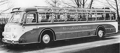 1954 Krauss-Maffei KMO 160 body Neoplan