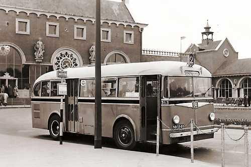 1954 Kromhout Trambus Den Bosch