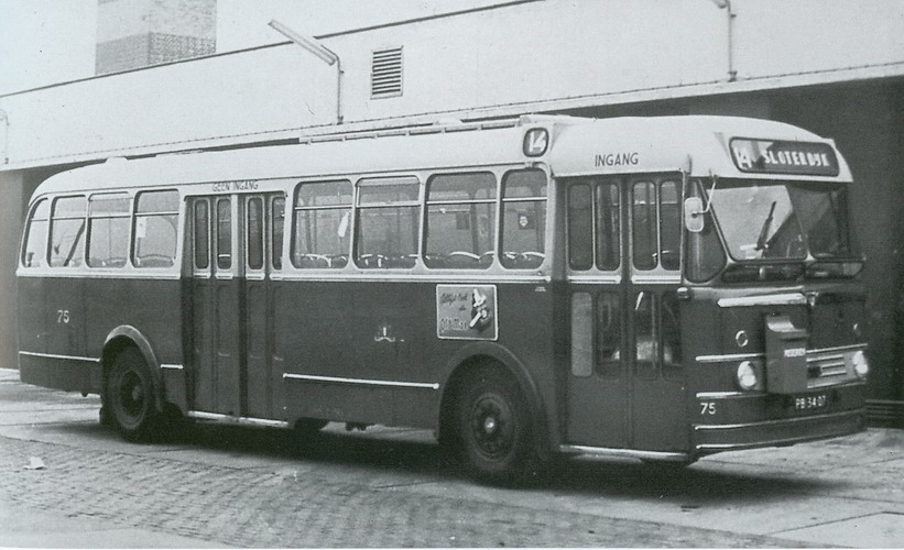 1954 Leyland Royal Tiger Worldmaster- Kromhout TBZ 100- Verheul, Waddinxveen