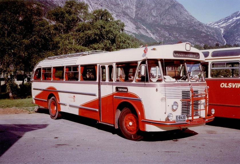 1954 Scania Vabis B62V - T. Knudsen