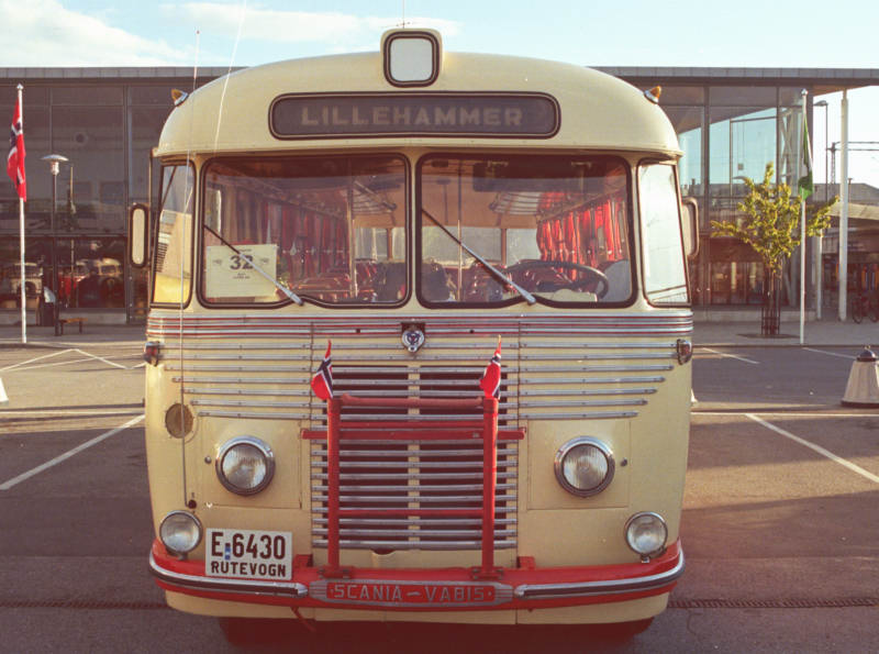 1954 Scania-Vabis B62V with 37 seat coachwork by T. Knudsen