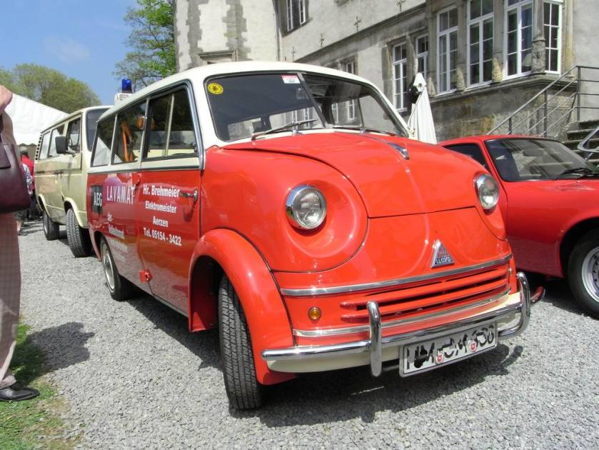 1955-61 Lloyd 600 minibus