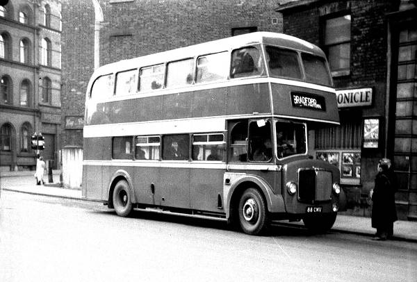 1955 Crossley Regent V (CMD3RV001) with Park Royal H33-28R body lg88cmv