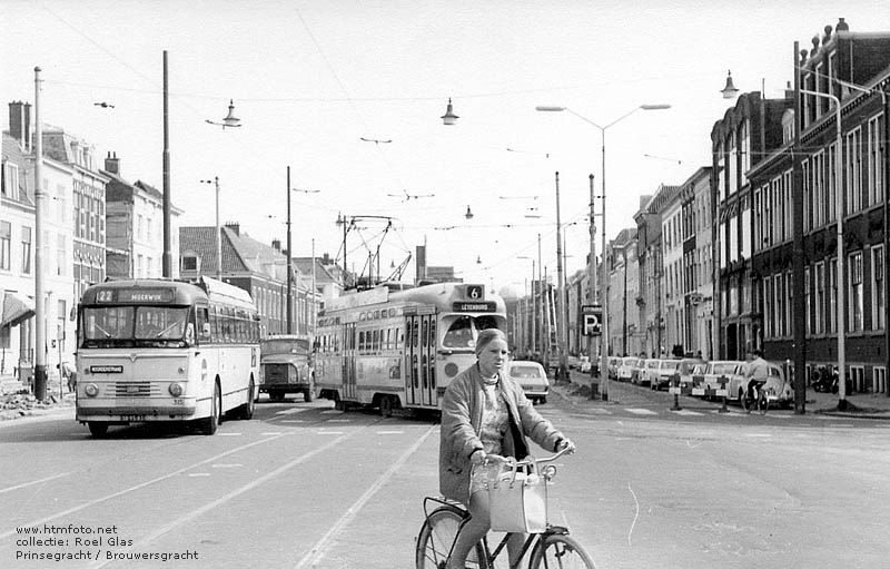 1955 Kromhout TBZ-100A - Verheul 315 en PCC10xx Prinsegracht-Brouwersgracht