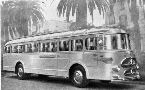 1955 Lancia Bianchi Gran Turismo Bus