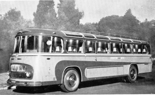 1955 Lancia Esatau Intercity Padana Bus