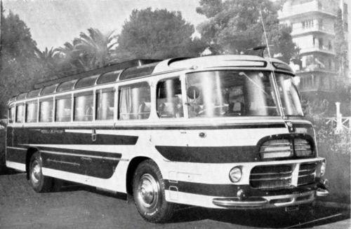 1955 Lancia Esatau Renzo Orlandi Bus