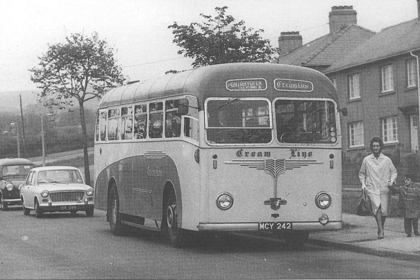1955 Leyland Creamline MCY 242