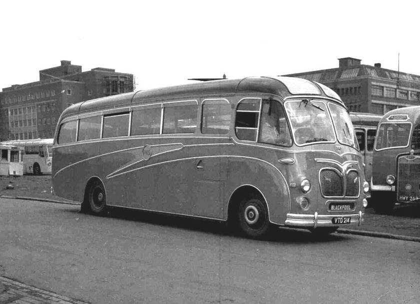 1955 Leyland ECPO2-1R Comet with Duple C36F body