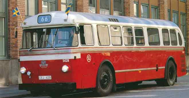 1955 Scania-Vabis C75 Capitol