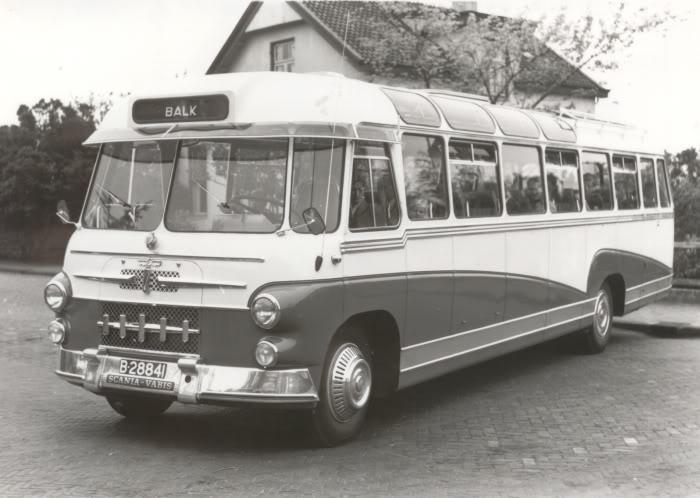 1955 Scania Vabis met Den Oudsten carrosserie. ZWH, nr.15
