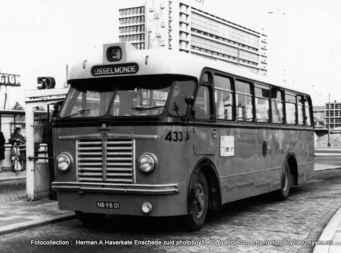 1955 Scania van RET Rotterdam