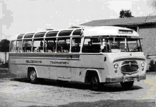 1956 DAF B1500 DAF carr König LADO 16