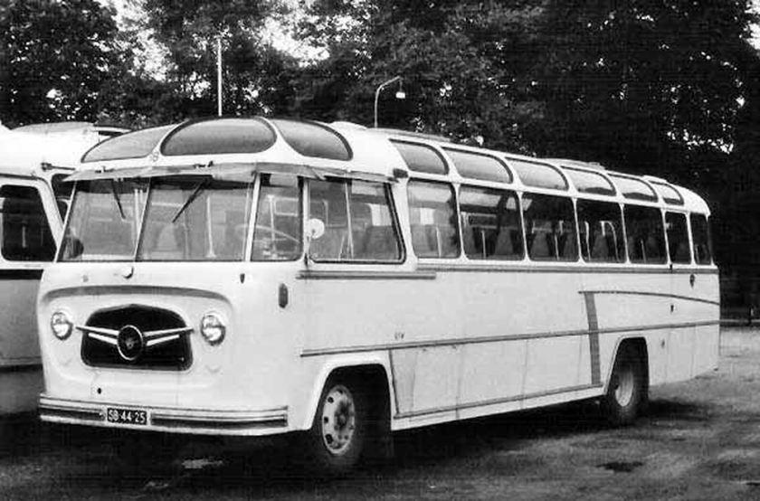 1956 DAF-Perkins B1500P533 carr. König, Den Haag  SB-44-25