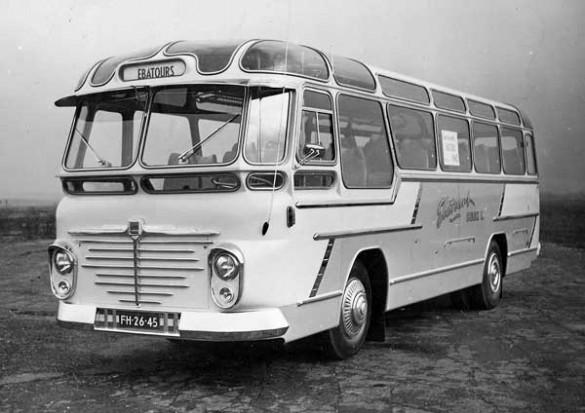 1956 Een Büssing voor Ebatours