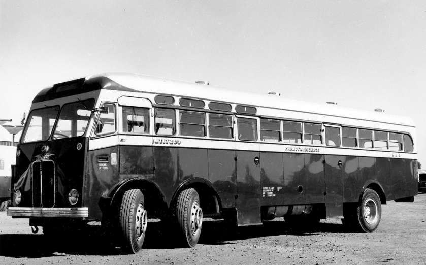 1956 Leyland Steer Coach Built by The South African Railways