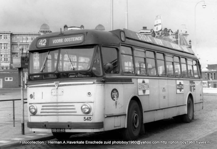 1956 Scania HTM Den Haag