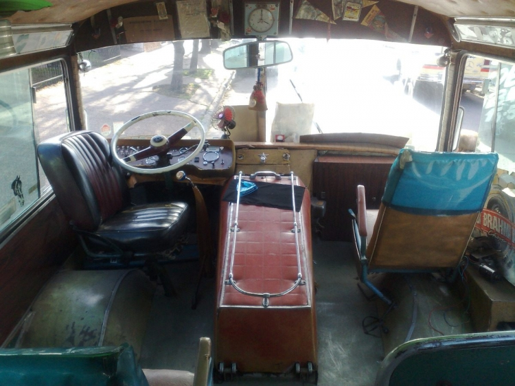 1956 Scania Vabis Decaroli inside