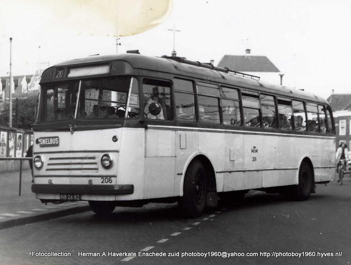 1956 Scania Vabis van HTM Den Haag