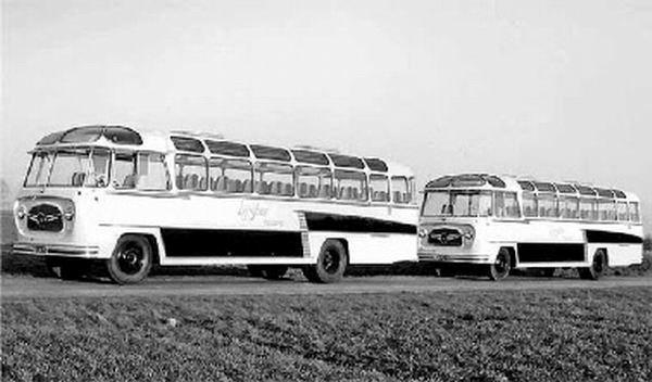 1957 DAF B1500 P533 BMC carr König GTW 17