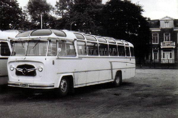 1957 DAF B1500 P533 Perkins carr König GTW 18