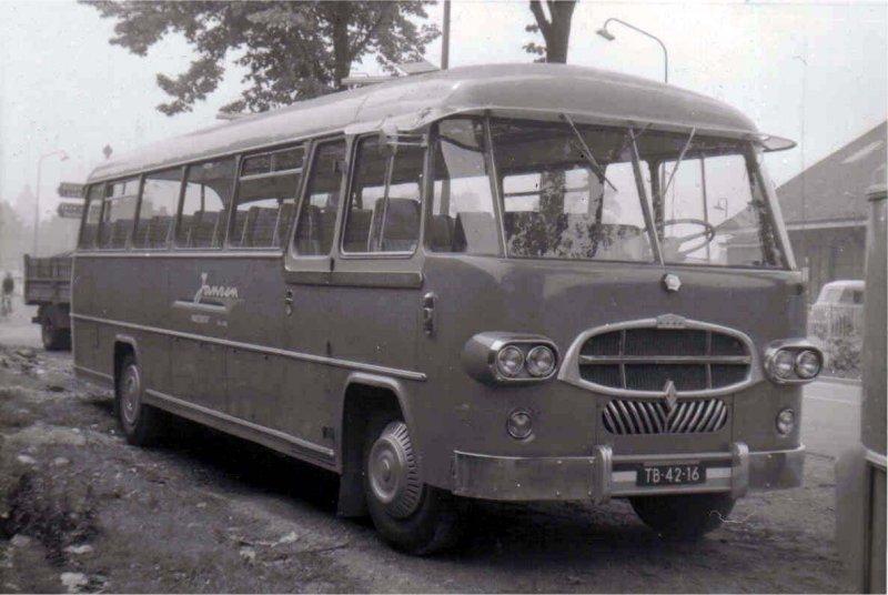 1957 Jansen 18 König-Daf