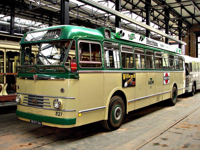 1957 Kromhout TBZ100-Verheul-bus, bouwjaar 1957, HTM 327